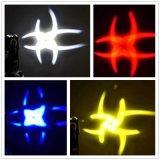 4X25W RGBW 4in1 LED Beam cabeza móvil para discoteca Nightclub
