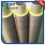 Cinta a prueba de calor del paño del Teflon de PTFE con el trazador de líneas amarillo