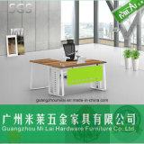 高い等級のオフィス及びホームのための現代鉄骨フレームの家具のコンピュータの机