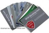 A identificação do protetor da segurança do cartão de crédito lasca RFID que obstrui o Hf do cartão