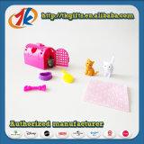 Jouet réglé de mini animal en plastique drôle avec le prix bon marché