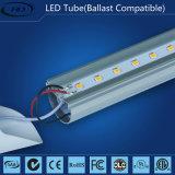 alta LED T8 lámpara brillante del tubo de 1200m m 22W con UL, cUL, certificación de Dlc (lastre compatible)