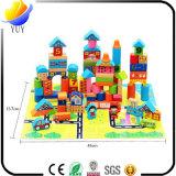 Воспитательные деревянные игрушки детей с головоломкой и кирпичами Kong игрушки и замком Ming