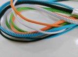 vendita calda di carico del cavo del USB della chiusura lampo creativa 2.1A negli S.U.A. ed Europa