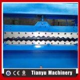 Le métal a galvanisé le roulis de feuille ridé par toiture formant la machine 988