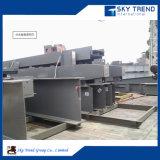 Struttura d'acciaio pre costruita che costruisce il capannone dell'acciaio per costruzioni edili