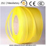 Желтая пластичная прокладка PP пакуя планку