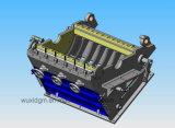 Dgh8001200 de Op zwaar werk berekende Vermindering van de Grootte van Granulators Gemaakt Gemakkelijk