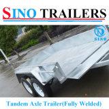 工場販売の普及したOEMデザイン十分に溶接されたタンデムボックストレーラー