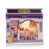 Mini boutique européenne pour jouets en bois