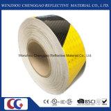 Schwarze und gelbe reflektierende Sicherheits-warnendes Band (C3500-S)
