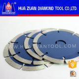 La circular dividida en segmentos diamante del granito de Huazuan vio la lámina
