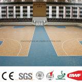Wearable cubierta 6.5mm Patrón popular de Baloncesto Deportes vinilo Suelo de Madera