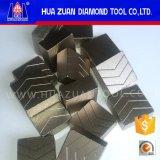 Lámina de sierra grande de 2500 mm para corte de granito Segmento de diamante de primera calidad