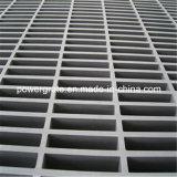 Reja moldeada FRP de alta resistencia con la superficie cerrada fuertemente