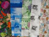 Form-Blume gedruckte Jacquardwebstuhl-Gewebe-Baumwolle 100%