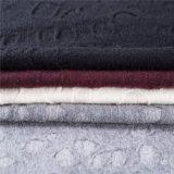 Tessuti di cotone e delle lane con il tessuto del jacquard nel bianco
