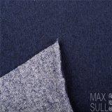 ウールの/Cotton /Acrylicの秋の季節の濃紺のための混合されたウールファブリック