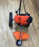 Condensador de ajuste empujado manualmente de la hierba del cortacéspedes del cortador de cepillo