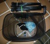 ヤナギの熱い販売のカスタムバイクのバスケット、カスタムサイズのかご、黒いかごLC-B014