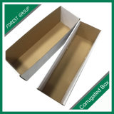 Oberseite-und Unterseiten-gewölbtes Papier-Geschenk-verpackenkasten