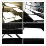 Luz de painel quente do diodo emissor de luz do teto da venda PMMA 60X60 Dimmable