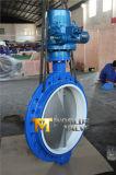 Elektrischer betätigter Oblate-Typ Drosselventil mit PTFE Sitz (D971X-10/16)