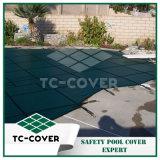 Couverture de piscine de pp--Tissu matériel de roulis, tissu de maille