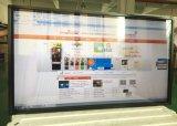 Стена 65 дюймов установила все в одной ультракрасной индикации LCD киоска экрана касания