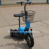 Vespa eléctrica de la movilidad del motor del eje de la bicicleta de 3 ruedas para Handicapped