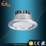 La lampada di alluminio LED della PANNOCCHIA 5W di alta qualità giù si illumina