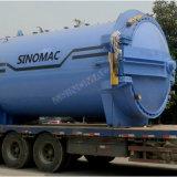 完全なオートメーションPLC制御安全ガラスのオートクレーブ(SN-BGF3060)
