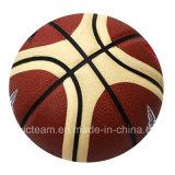 Talla oficial única 7 del baloncesto de la PU del diámetro de la talla
