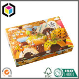 Коробка 4 угловойых Donuts качества еды установки бумажная упаковывая