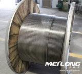 Ligne de contrôle chimique duplex de Downhole de l'acier inoxydable S32750 tuyauterie enroulée