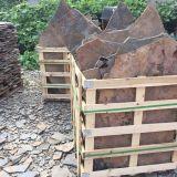 Pavimentazione arrugginita di forma irregolare del Flagstone
