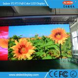 Farbenreiches Stadiums-Innenmiete LED-Bildschirmanzeige RGB-P2.973