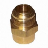 Präzision maschinell bearbeitet/Maschine/Maschinerie CNC-maschinell bearbeitende Messingmetallselbstersatzteile