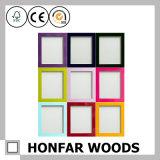Amerikaanse Kleurrijke Houten Omlijsting voor de Decoratie van het Huis