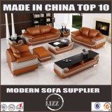 Sofá 2016 de couro de Divany para o sofá de couro secional da sala de visitas