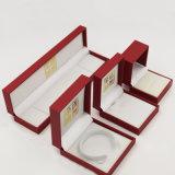 Коробка ювелирных изделий Leatherette PU замши кожаный с последним ценой (J37-E2)