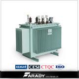 transformador inmerso en aceite de la distribución de potencia 1500kVA