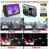 """Automobile piena DVR dello schermo HD1080p di HD di vendita calda 3.0 """" in scatola nera nascosta precipitare dell'automobile costruita in 6g obiettivo, angolo di vista 170degree, WDR, movimento Dectection, videocamera portatile DVR-3014 dell'automobile"""