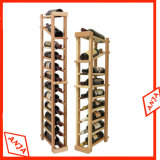 MDF Wine Display Rack Vin Display Cabinet Unit