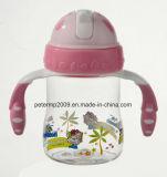 bottiglia di bambino unica 260ml, commercio all'ingrosso della bottiglia di bambino, supporto di bottiglia del bambino (hn-1604)