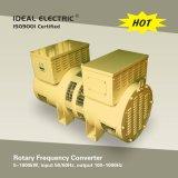 60Hz-400Hz, convertidor de frecuencia rotatorio 50kVA (motor-generador fijado)