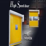 Дверь штарки ролика PVC пакгауза высокоскоростная