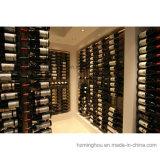 Metallan der wand befestigte Wein-Zahnstange der Weinkeller-Wand-Serien-36-Bottle