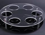 4mm si sono sporti piatto acrilico dello strato per la mostra del basamento