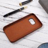 Étui en cuir de cuir véritable pour Samsung Galaxy S7